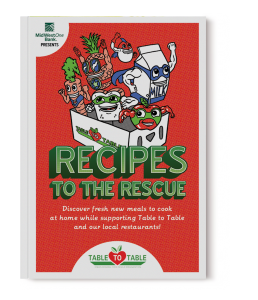 Recipes to the Rescue book