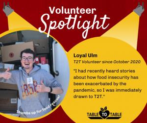 Loyal Ulm Volunteer Spotlight Graphic